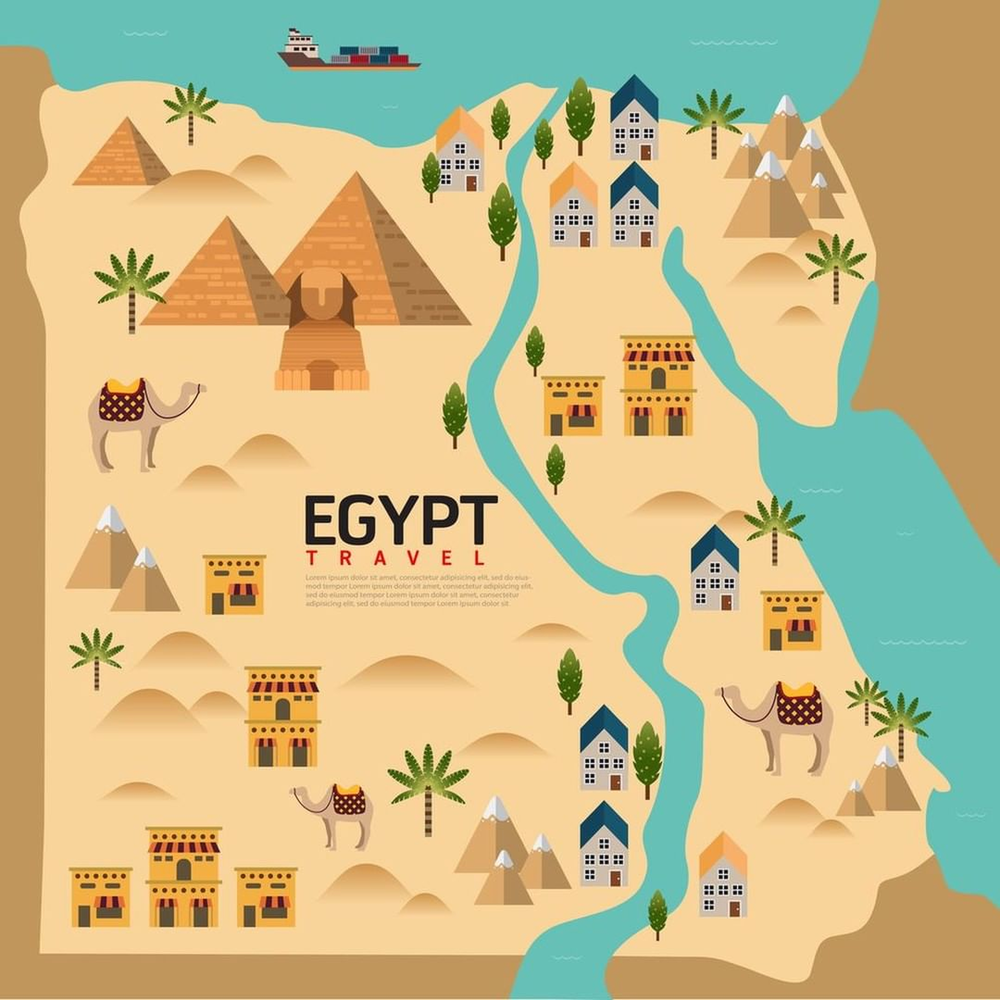 география египта картинки декоре подушки кант